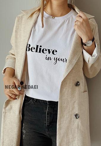 تیشرت believe